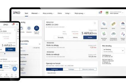 PKO BP udostępni nową wersję iPKO. Odświeżony serwis zastąpi mobilną wersję iPKO lajt