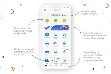 SkyCash odświeża aplikację, portmonetka w nowej odsłonie