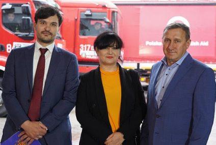 PKO BP wsparł konwój ze środkami sanitarnymi na Ukrainę