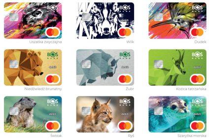 BOŚ wprowadza nową edycję kart z wizerunkami chronionych zwierząt