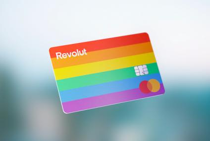 Revolut udostępnił karty z okazji miesiąca Pride