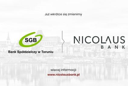 BS Toruń zmienia się w Nicolaus Bank
