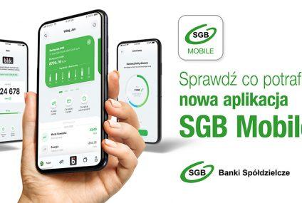 SGB udostępnił nową aplikację mobilną. Wkrótce doda do niej kolejne funkcje, m.in. Autopay i konto na selfie