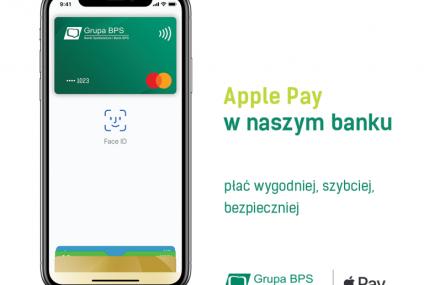 Apple Pay już dostępne w Bankach Spółdzielczych Grupy BPS oraz w Banku BPS