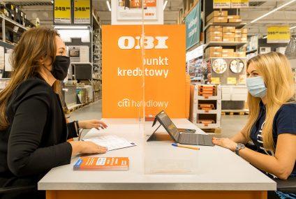 Citi Handlowy wprowadził ofertę zakupów z ratami dla klientów OBI