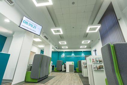 Credit Agricole otworzył pierwszą placówkę w centrum handlowym