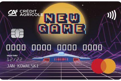 Credit Agricole wprowadza ofertę dla graczy. Bank proponuje bonusy i nowe wizerunki kart