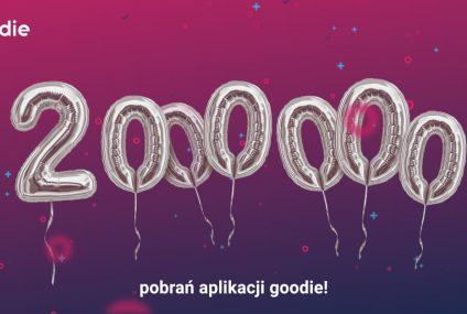 Dwa miliony pobrań aplikacji goodie i rosnąca popularność goodie cashback
