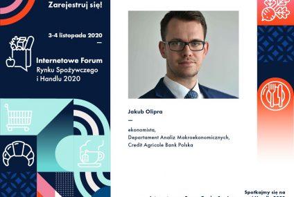 Credit Agricole sponsorem głównym Internetowego Forum Rynku Spożywczego i Handlu