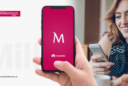 Bank Millennium rozpoczął prace nad aplikacją dla telefonów Huawei. Program trafi do AppGallery