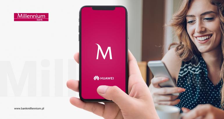 Ruszają płatności zbliżeniowe Blik na smartfonach Huawei. Usługę wprowadza Millennium