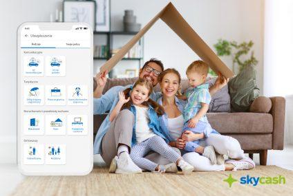SkyCash wprowadził ubezpieczenia nieruchomości