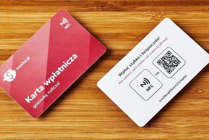 """Karta zamiast terminala. Zrzutka.pl wprowadza kartę """"wpłatniczą"""""""