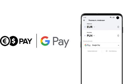 Cinkciarz.pl wprowadza Google Pay do Cinkciarz Pay