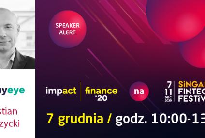 PayEye, start-up z Wrocławia, na festiwalu fintech w Singapurze