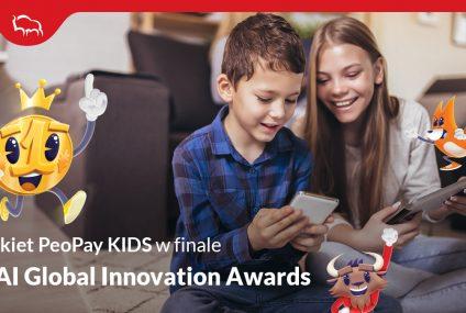 Pekao z ofertą PeoPay KIDS w finale BAI Global Innovation Awards. Jako jedyny bank z Polski