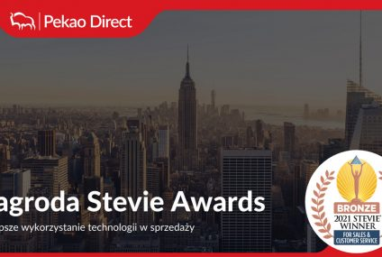 Pekao Direct z nagrodą Stevie Award