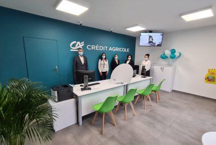 Credit Agricole otworzył setną placówkę partnerską