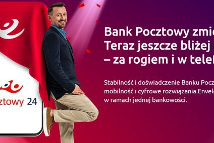 Bank Pocztowy połączył swoje marki. Od dziś klienci mogą korzystać z bankowości elektronicznej Nowy Pocztowy24