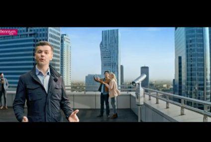 Nowa reklama TV Konta 360° i aplikacji mobilnej Banku Millennium