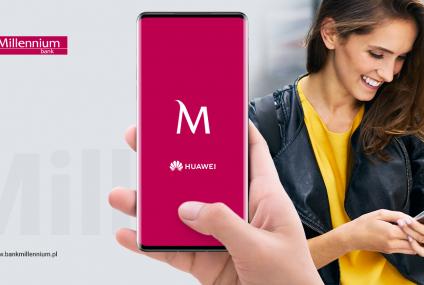 Nawet 400 zł do zyskania – startuje kampania Banku Millennium i Huawei