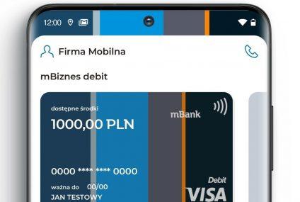 mBank zaprezentował nową wersję aplikacji CompanyMobile