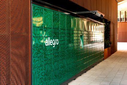 """Allegro """"zasadziło"""" pierwsze ekologiczne automaty paczkowe w Poznaniu i Warszawie"""