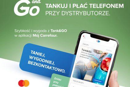 Carrefour rozszerza usługę Tank&Go