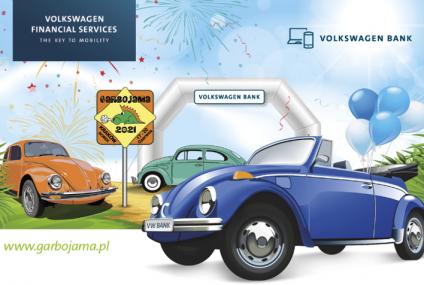 Volkswagen Bank wystawcą i złotym sponsorem na zlocie miłośników klasycznej motoryzacji Garbojama 2021
