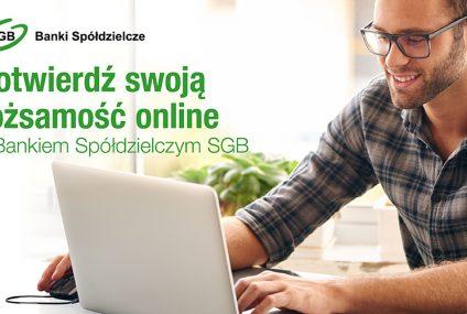 Ponad 30 tysięcy klientów banków spółdzielczych SGB korzysta co miesiąc z usługi SGB ID