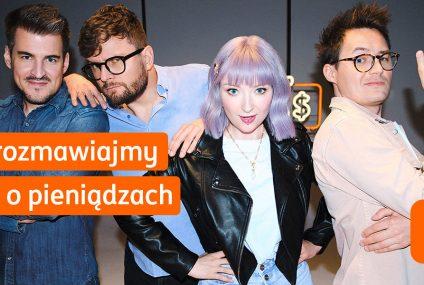 Karol Paciorek, Red Lipstick Monster, Martin Stankiewicz i Izak w akcji społecznej ING – Porozmawiajmy o pieniądzach