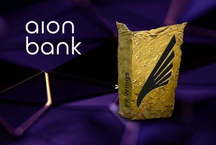 Program Ambasadorski Aion Banku z dwiema statuetkami w pierwszej edycji konkursu PR Wings