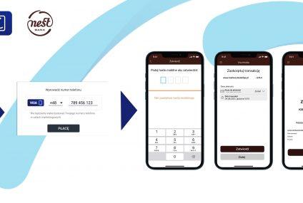 Blik będzie miał konkurencję? W Nest Banku rusza Visa Mobile – nowy, szybki sposób płatności kartą w internecie