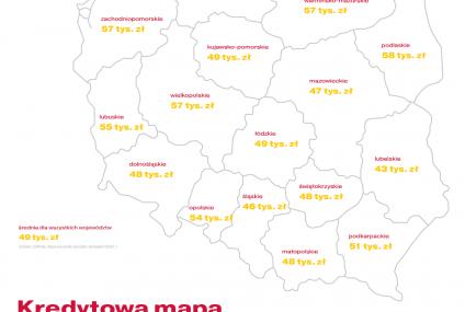 Kredytowa Mapa Polski Cofidis: Ile wydajemy na samochody?